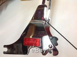 04-17 OEM Harley Sportster Sideplates Tall Sissy Bar, Passenger Backrest Pad