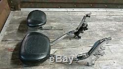 05-09 Yamaha Royal Star Detachable Passenger Backrest Sissy Bar & Rider Backrest