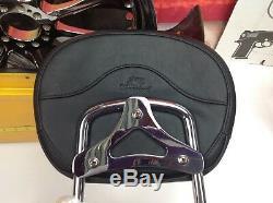 09-18 OEM Harley CVO Touring Quick Detachable Sissy Bar Mustang Backrest