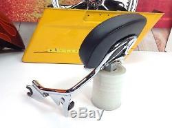 09-18 OEM Harley CVO Touring Short Detachable Sissy Bar Passenger Backrest