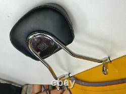 09-20 Cobra USA Harley Touring Detachable Sissy Bar Passenger Backrest