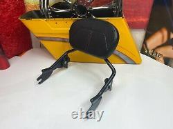 09-20 OEM Harley CVO Touring Detachable Sissy Bar Passenger Backrest Pad