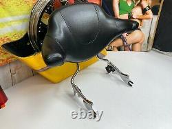 09-20 OEM Harley Touring Detachable Leather Sissy Bar Wraparound Backrest