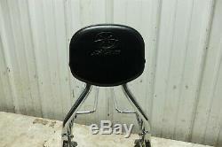 09 Yamaha XVS 950 XVS950 V-Star detachable passenger back rest sissy bar & rack