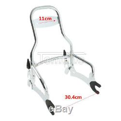 12 Backrest Passenger Sissy Bar For Indian Chief Classic Vintage 2014-2018 2017