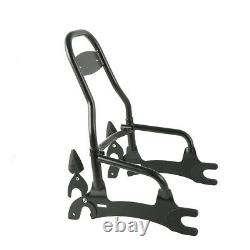 12 Detachable Rear Passenger Backrest Sissy Bar For Indian Chief Classic 14-18