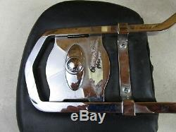2000 Harley Softail Heritage Sissy Bar Back Rest with Brackets Pad