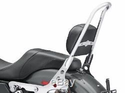 2004-2020 Harley Sportster Chrome Tall sissy Bar One Piece Backrest Detachable