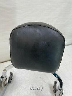 2008 Harley Davidson Softail Oem Hd Quick Release Sissy Bar Passenger Backrest
