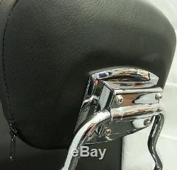 2014 New Detachable Backrest Sissy bar and Rack for HD touring 2009 up