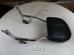 2015 Harley Softail Deluxe Detachable Sissy Bar Back Rest with Brackets Pad
