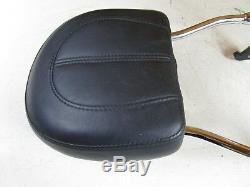 2016 Harley Softail Deluxe Detachable Sissy Bar Back Rest with Brackets Pad
