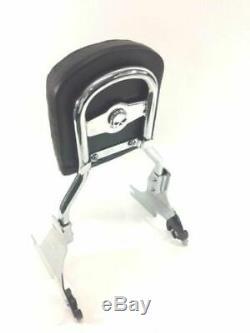 883 Chrome Harley Quick Release Sissy Bar Passenger Backrest Sportster Nightster
