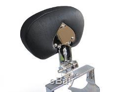 Adjustabe Detachable Sissy Bar with Backrest Yamaha RoadStar 1600 1700 XV1600