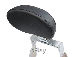 Adjustable Detachable Sissy Bar with Backrest for Yamaha V Star 1100