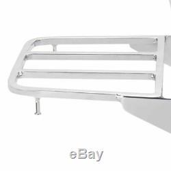Backrest Luggage Rack Sissy Bar For Suzuki Intruder/Volusia C800C VL400 VL800
