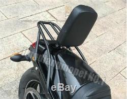 Backrest Sissy Bar Luggage Rack Pad for Harley Davidson Street XG500 XG750