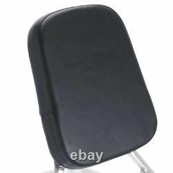Backrest Sissy Bar + Luggage Rack Pad for Kawasaki Vulcan 1500 VN1500 Classic