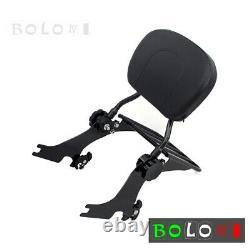 Backrest Sissy Bar & Luggage Rack for 04-17 Harley-Davidson Sportster XL883 1200