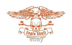 Black Harley Davidson One Piece Detachable Sissy Bar Backrest Pad Sportster 1200