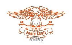 Black Harley Sissy Bar Back Rest 51146-10a Sportster 2004-2019 Iron Superlow Low