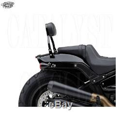 Cobra Quick Detach Backrest Harley Fatbob Detachable Sissy Bar fits FXFB 2018