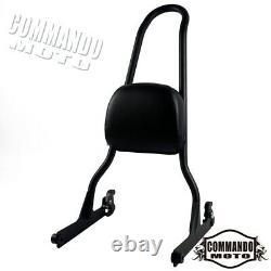 Detachable Backrest Sissy Bar/ Docking Hardware For Harley Softail FXSTS FXST