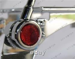Detachable Backrest Sissy Bar Luggage Rack For Harley Sportster 94-03 Adjustable