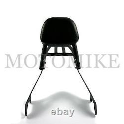 Detachable Backrest Sissy Bar Luggage Rack Kit For Yamaha XV950 XVS950 2015-2017