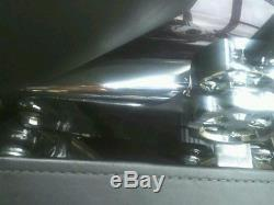 Detachable Backrest Sissybar Flat luggage Rack Harley Davidson Touring 97-08 2