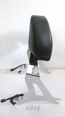 Detachable Passenger Backrest Back Rest Sissy Bar For Cross Country Road Victory