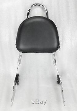 Detachable Passenger Sissy Bar Backrest Sportster XL883 04-16