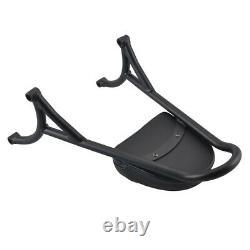 Detachable Passenger Sissy Bar Backrest for Harley Sportster XL883 48 XL1200 BLK