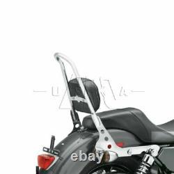 Detachable Passenger Sissy Bar Backrest with Pad For Harley Sportster XL 883 1200