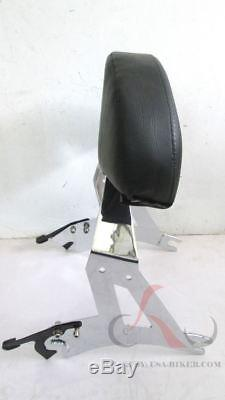 Detachable Sissy Bar Backrest Back Rest 4 Victory Cross Country Road Y53 CHROME