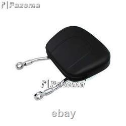 Detachable Sissy Bar Backrest Luggage Rack For Harley Sportster SuperLow XL883L