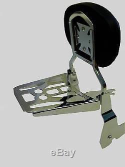 Detachable Sissy Bar/Backrest/Luggage Rack Honda Shadow VT Ace / Sabre C2 1100