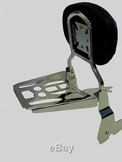 Detachable Sissy Bar/Backrest/Luggage Rack Yamaha V Star 650 Classic