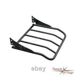 Detachable Sissy Bar Backrest With Luggage Rack For Harley Davidson Touring