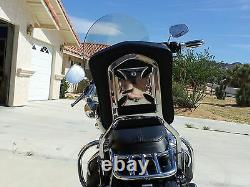 Detachable Sissy Bar/Backrest With Luggage Rack for Harley Davidson Softail