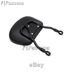 Detachable Sissy Bar Backrest with Luggage Rack For Harley FXST FXSTB FXSTC 06-Up