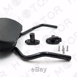 Detachable Sissy Bar Pad Backrest For Harley Davidson FLRT Freewheeler 15 16 17