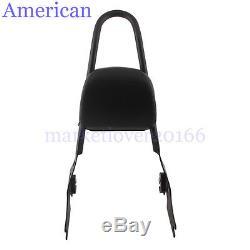 Detachable Sissy Bar Passenger Backrest For Harley-Davidson Sportster 1200 883