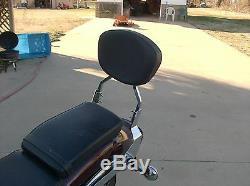 Detachable Sissy Bar with Backrest for Yamaha V Star 1100