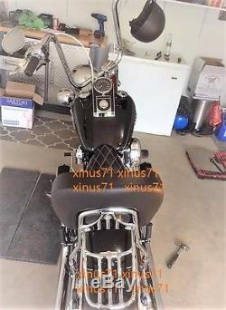Detachable Sissy bar & pad backrest for Harley Softail FLSTN deluxe 00 TO 2017