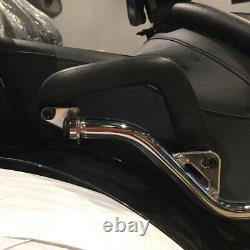 Driver Rider Seat Backrest Detachable Sissy Bar for Honda Goldwing GL1800 Black