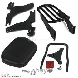 For 94-03 Harley-Davidson Sportster XL 1200 883 Backrest Sissy Bar Luggage Rack