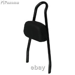 For Harley Dyna Street Bob FXDB Detachable 02-up Backrest Sissy Bar Luggage Rack