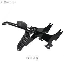 For Harley Sportster XL883 1200 94-03 Detachable Sissy Bar Backrest Luggage Rack