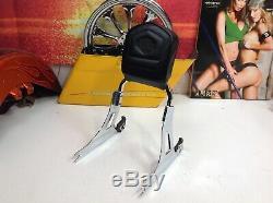 Genuine 06-17 Harley Dyna Detachable Sissy Bar Passenger Backrest MSRP $305